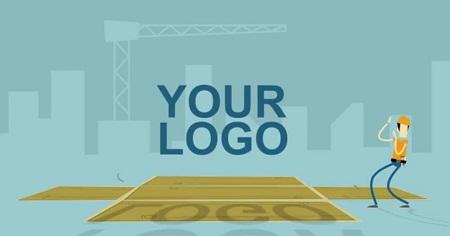 Pond5 - Crane Logo Reveal - 074360924