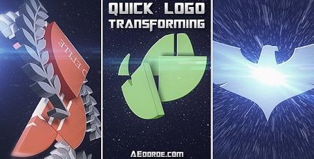 Videohive - Quick Logo Transforming 13642571