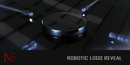 Robotic Logo Reveal 2025860 After Effects Template