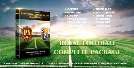 Royal Football Complete Package-Broadcast Design 17056913