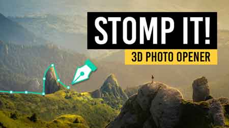 STOMP IT! - 3D Photo Opener 22184535 After Effects Template