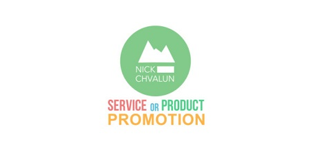 Service Or Product Promotion Presentation 12107826