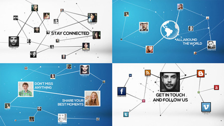 Stay Connected 8070893 After Effects Template