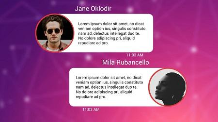 Text Messages Pack for Premiere Pro - Premiere Pro Templates 114615