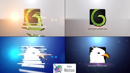Videohive Minimal Slice Logo V2 - Apple Motion 22605859