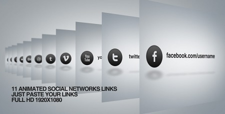 Videohive Social Network Links 4659956