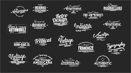 Vintage Slideshow Titles Pack 8970923 After Effects Template