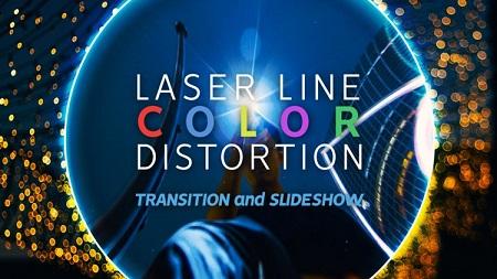 Laser Line Color Transitions Slideshow Premiere Pro Templates 128766