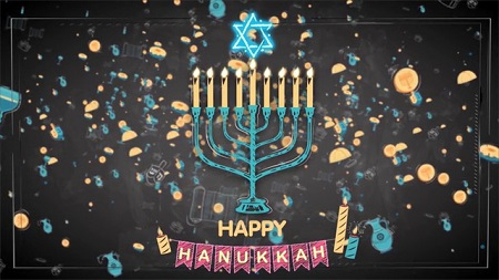 Pond5 Happy Hanukkah 083555299 After Effects Template Download
