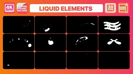 Pond5 Liquid Shapes And Titles 096276805 After Effects Template
