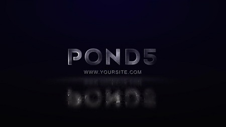 Pond5 - Metal Logo 092028858 After Effects Template