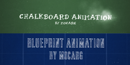 Chalkboard and Blueprint Presentation 2742665 After Effects Template