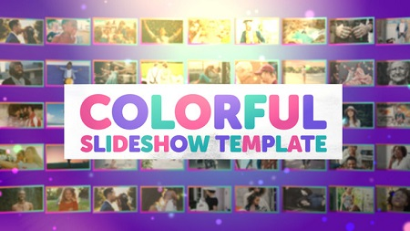 Colorful Slideshow 22043785 After Effects Template Download Videohive