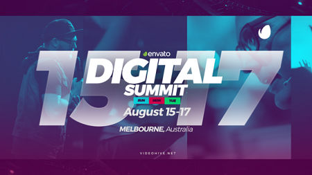 Digital Summit Event Promo 21860651 After Effects Template Download