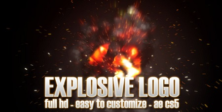 Explosive Logo 3079844 After Effects Template Download Videohive