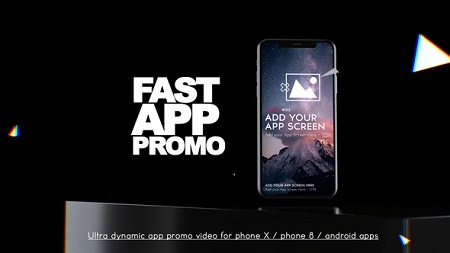 Fast App Promo 22737310 After Effects Template Download Videohive