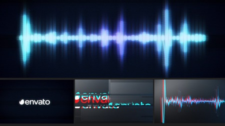 Glitch Logo Music Visualizer 12007950 After Effects Template Download