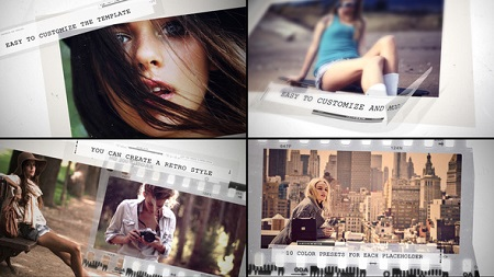 Videohive Grunge Movie Intro 22576453 After Effects Template
