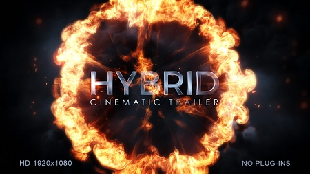 Hybrid Cinematic Trailer 22197920 After Effects Template Download