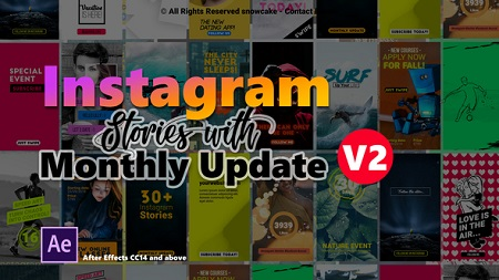 Instagram Stories V2 22357836 After Effects Template Download