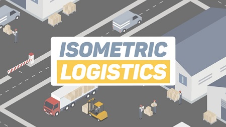 Isometric Logistics 22324616 After Effects Template Download Videohive