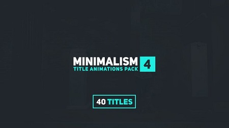 Videohive Minimalism 4 15802092 After Effects Template