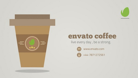 Morning Coffee Logo 9499801 After Effects Template Download Videohive