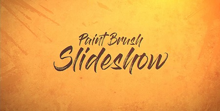 Paint Brush Slideshow 19897221 After Effects Template Download