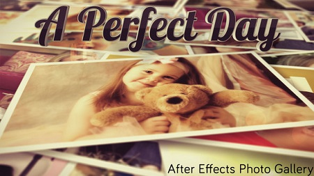 Photo Gallery A Perfect Day 7812358 After Effects Template Download