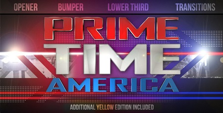Videohive Prime Time Show Broadcast Pack 1631087 After Effects Template