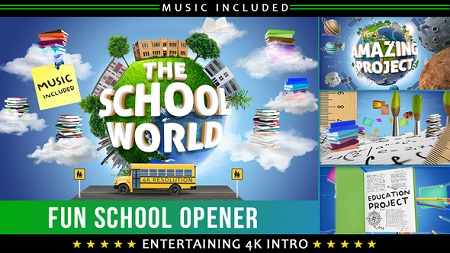 Videohive School Education Opener 22606032 After Effects