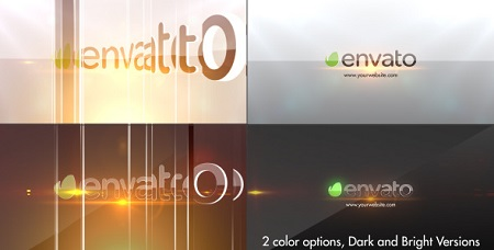Simple Glossy Slider Logo 7205074 After Effects Template Download
