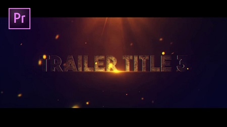 Trailer Title V3 22382606 Premier Pro Template Download Videohive