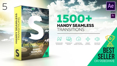 Transitions 18967340 V5 (With Crack) After Effects Template Download