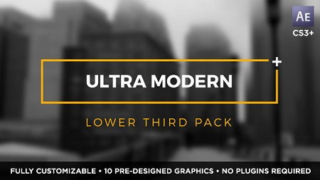 Videohive Ultra Modern Titles And Lower Thirds 15092396