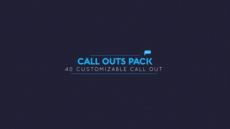 Pond5 Call Out Pack 094951955 After Effects Template Download