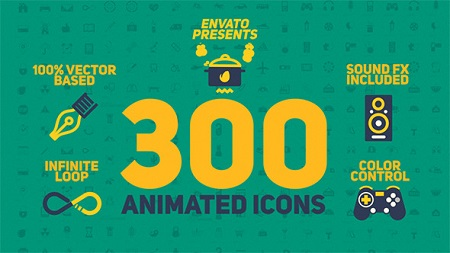 Animated Icons Pack 11596193 After Effect Template Download Videohive