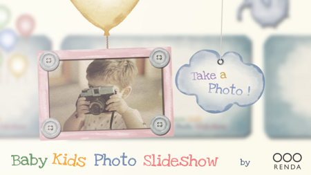 Baby Kids Photo Slideshow 22568248 After Effects Template