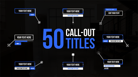 Call Out Titles 21483150 After Effects Template Download Videohive