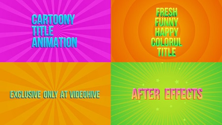Candy Titles 22590467 After Effects Template Download Videohive