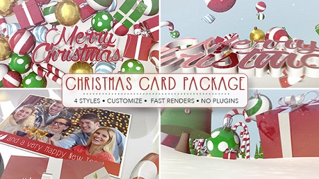 Christmas Card Package 9614673 After Effects Template Download