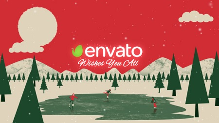 Christmas Greetings 13721314 After Effects Template Download Videohive
