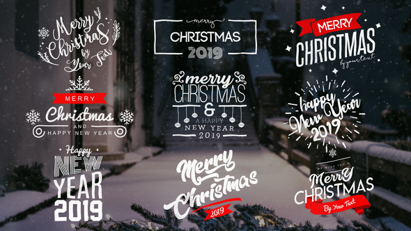Christmas Titles 22831974 After Effects Template Download Videohive