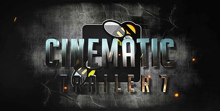 Cinematic Trailer 7 20317621 After Effects Template Download Videohive