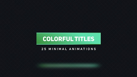 Colorful Titles 2 16618113 After Effects Template Download Videohive