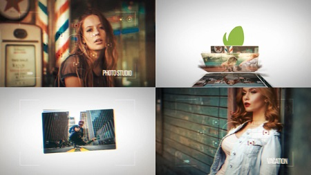 Dynamic Photo Slideshow Intros 22817809 After Effects Template