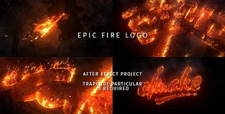 Epic Fire Logo 20431154 After Effects Template Download Videohive