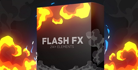 Videohive Flash Fx Elements Hand Drawn Bundle Pack 15408048 Motion Graphics