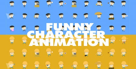 Funny Character Animations 18699894 After Effects Template Download