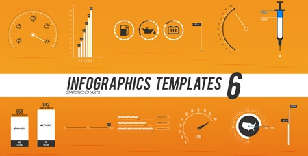 Infographics Templates 6 3901549 After Effects Template Download